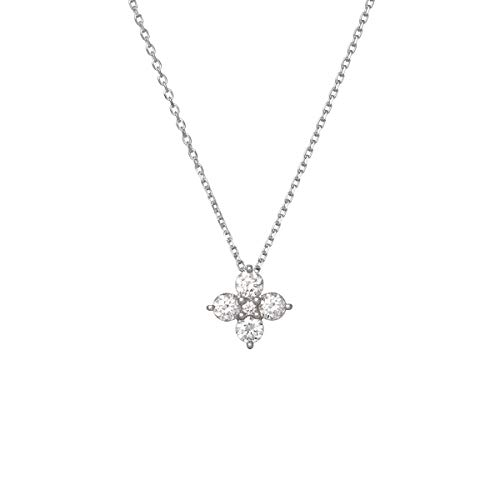 4℃(ヨンドシー) ダイヤモンド プラチナネックレス 111033125006