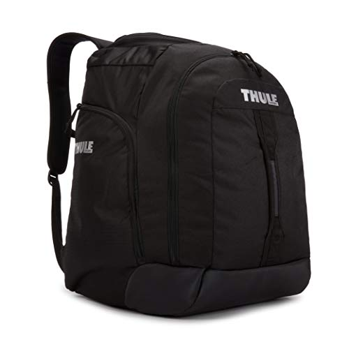 Thule Unisex's Roundtrip Boot Backpack, Black/Wood Thrush, 55L