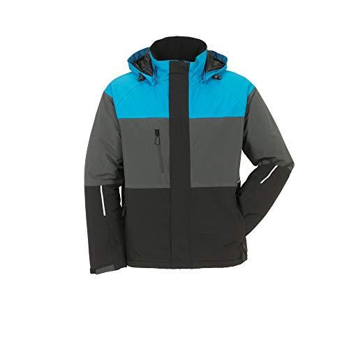 Größe M Unisex Planam Outdoor Winter Aviator Jacke blau grau schwarz Modell 3757