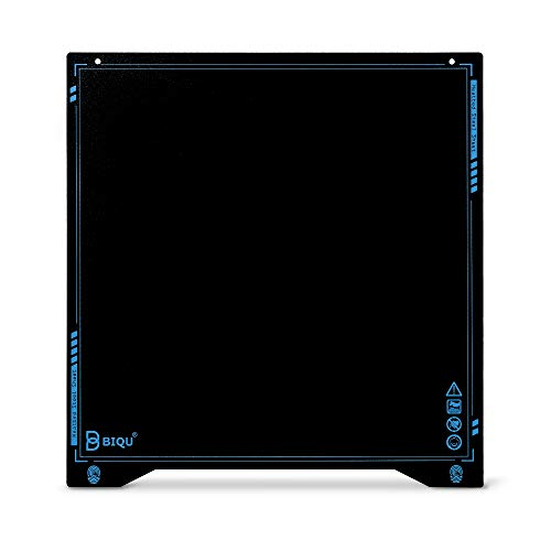 BIQU SSS Super Spring Steel Sheet Heatbed Platform 310 × 310 MM 3D Printer Parts Printing Build Plate PLA PETG for CR10 CR10S Pro