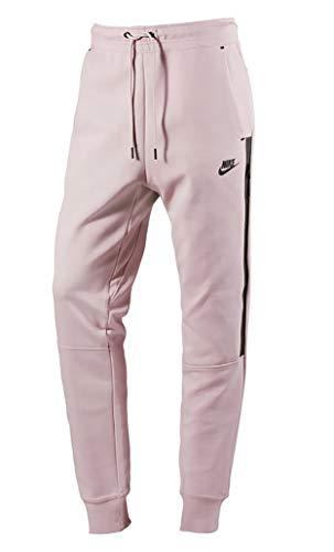 Nike W NSW Tech Fleece Og, Pantaloni Sportivi Donna, Rosa/Nero (Particle), L