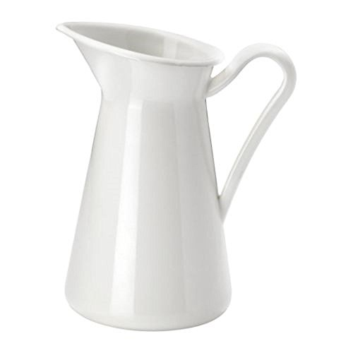 IKEA - Jarrón, Color Blanco, Blanco, 15.24 cm, 1
