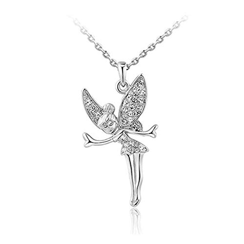 Color Yun Angel Necklace Diamond Angel Necklace Womens Necklace Charm Jewelry Wedding Necklace