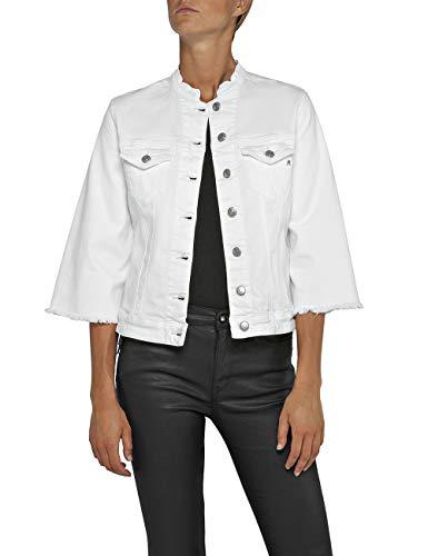 Replay Damen W7408 .000.8064101 Jeansjacke, Weiß (White 1), X-Small (Herstellergröße: XS)