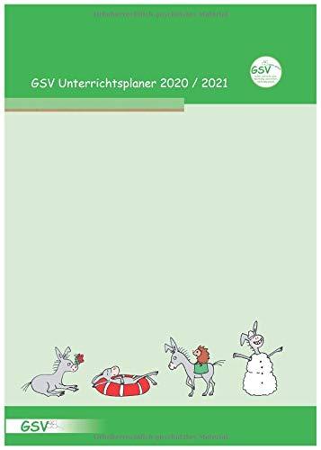 GSV Schulplaner Lehrerkalender 2020/21 Hardcover DIN A4