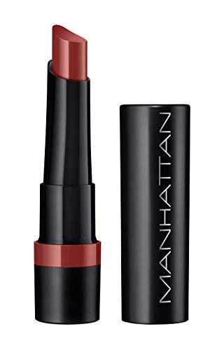 Manhattan All In One Extreme Lippenstift, Lipstick für langanhaltende intensive Farbe & angenehmes Tragegefühl, Farbe Snatched 25, 1 x 2,3 g