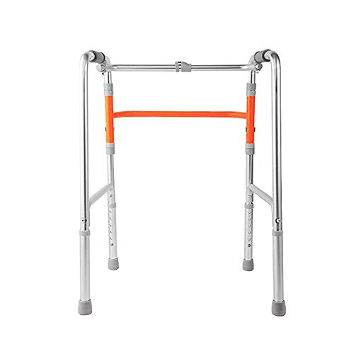 XCY Gehhilfe Medical Instruments Aluminiumlegierung Struktur Gehen Walker, Folding Vier-Corner Hilfs Walker