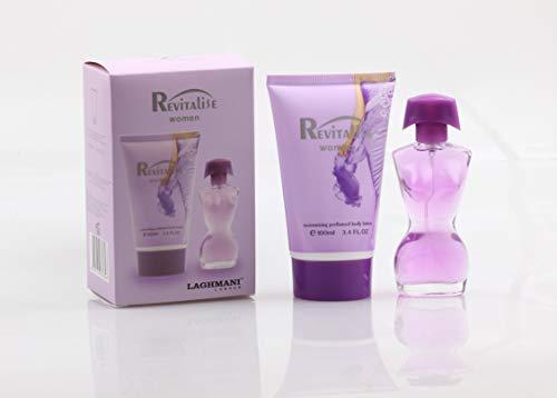 Revitalise Women Eau de Parfum 2-teiliges Geschenkset in Geschenkbox Laghmani London