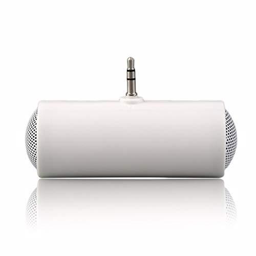 Timetided Mini Altavoz estéreo Reproductor de MP3 Amplificador de Altavoz para teléfono móvil de 3,5 mm
