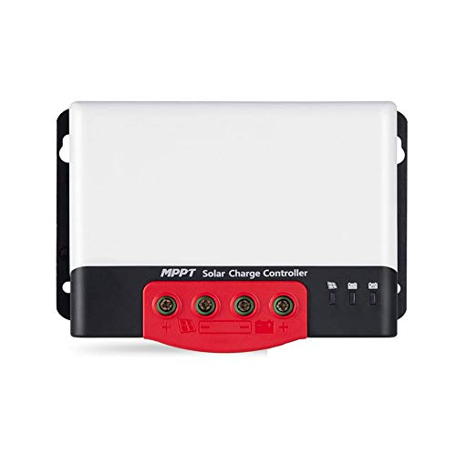ZBF 20a 30a 40a 50a Controlador de Carga Solar MPPT Auto 12V 24V Regulador de la batería Solar para la Entrada MAX 1320W Pantalla Bluetooth Cargador de Pantalla