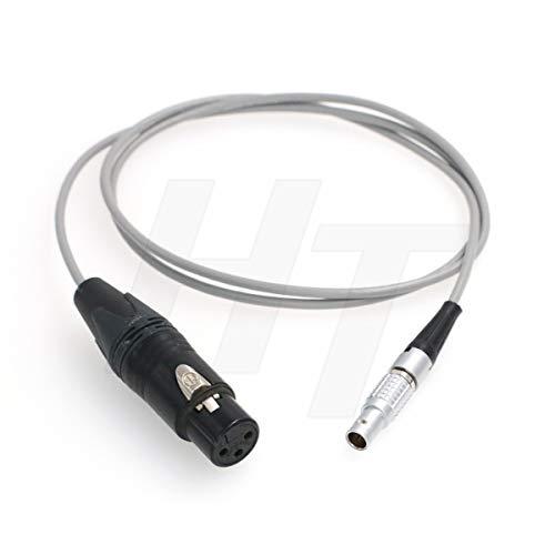 HangTon Cable de audio XLR de 3 pines a 6 pines para ARRI Alexa Mini LF Camera (XLR3F)