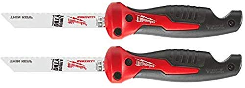 Milwaukee 48-22-0305 6 Inch Folding Jab Saw Compatible with Sawzall Reciprocating Saw Blades (Multi Purpose Blade Included), 2 Pack