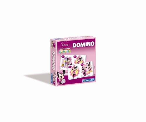 Clementoni - 12872.3 - Jeu Educatif et Scientifique - Domino - Minnie