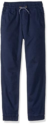 Gymboree Boys' Big Relaxed Fit Jogger, Navy, S