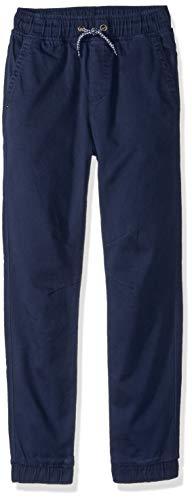Gymboree Big Relaxed Fit Jogger - Pantalón de chándal para niño - Azul - Small