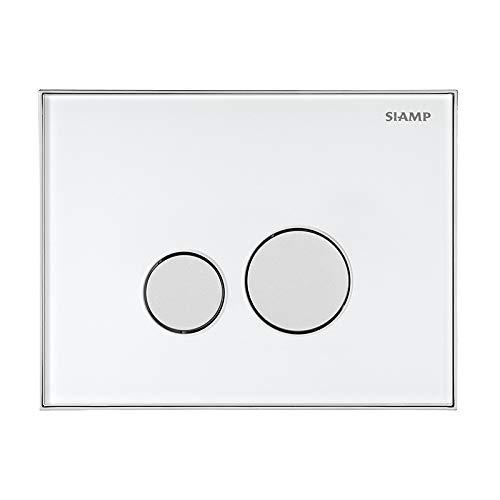 Siamp 31198460 Reflet 360 Flush Plate White