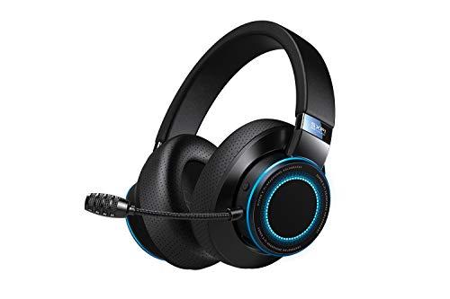 Creative SXFI AIR Gamer - USB-C-Gaming-Headset mit Bluetooth 5.0, hochwertigem ANC CommanderMic, SXFI Battle Mode optimiert für FPS, 11 Stunden Akkulaufzeit, GamerChat für PC, PS4 und Nintendo Switch