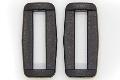 NTS Nähtechnik 10 hebillas de plástico (30 mm).
