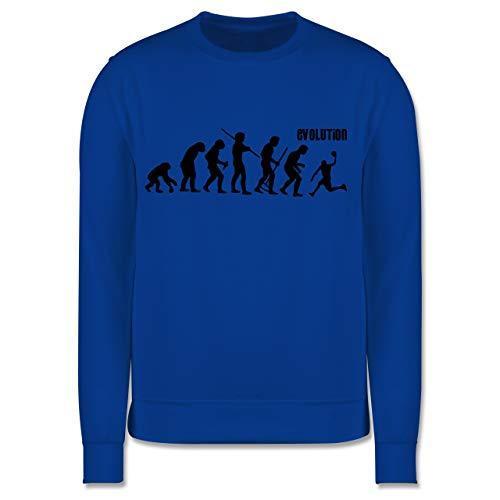 Shirtracer Evolution Kind - Evolution Basketball - 152 (12/13 Jahre) - Royalblau - Pullover - JH030K - Kinder Pullover