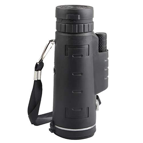 Telescópio Monocular Zoom Scope 40 x 60 da UKCOCO com várias funções com tripé de clipe de bússola para câmera de celular