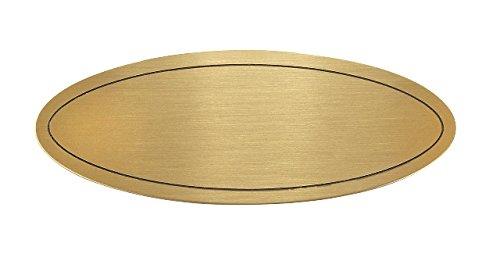 Form Türschild in Stabiler Ausführung Messing 115 x 45 x 1 mm mit wunsch Gravur