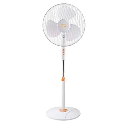 ventilatore a piantana watt Vinco 70708 stabile Ventilatore a piantana con base tonda bianco ed arancio 45W