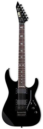 ESP LTD KH-602 Signature Series Kirk Hammett Electric Guitar with Case, Black