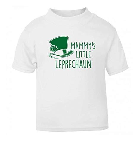 Flox Creative T-Shirt bébé Mammy's Little Leprechaun Noir Nouveau-né - Blanc - 1-2 Ans