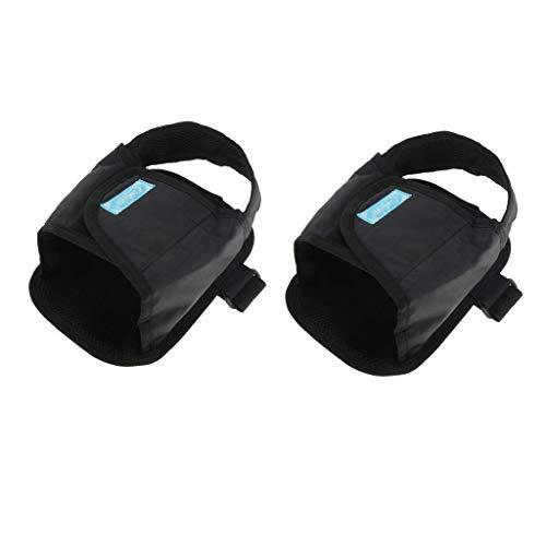 Baoblaze 2pcs Rollstuhl Sicherheit Transport Fußstütze Beinstütze Gurt Gürtel Schuhe für ältere oder behinderte Patienten
