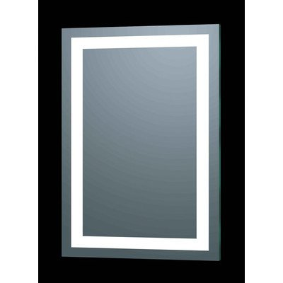 "Afina Illume Rectangular LED Backlit Mirror Size: 30"" H x 20"" W"