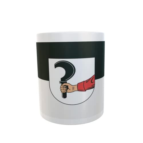 U24 Tasse Kaffeebecher Mug Cup Flagge Talheim bei Heilbronn