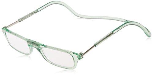 [クリックリーダー] 老眼鏡 Clic Pastel メンズ グリーンパステル 日本 +1.50-(FREE サイズ)