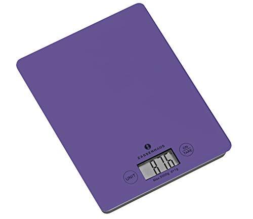 Zassenhaus Balance Digitale weegschaal, ultra violet, één maat