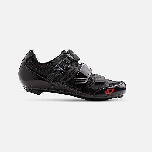 Giro Apeckx II Mens Road Cycling Shoe − 43, Black/Bright Red (2019)