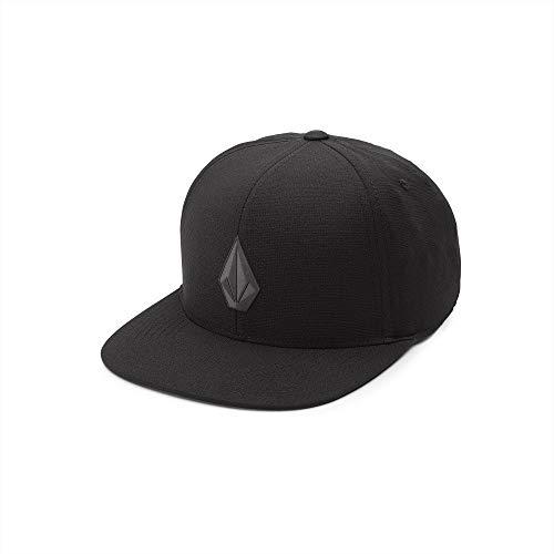 Volcom Unisex-Erwachsene Stone TECH 110 Baseball Cap, schwarz, Einheitsgröße