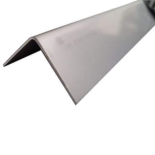 Edelstahl Winkel blank Kantenschutzprofil, Winkelprofil,Eckschutz,Kantblech