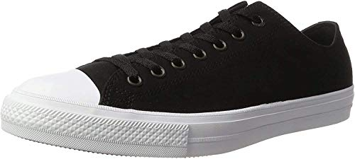 Converse Unisex-Erwachsene CHUCK TAYLOR ALL STAR II - OX Low-Top, Schwarz (Black/White/Navy), 37 EU