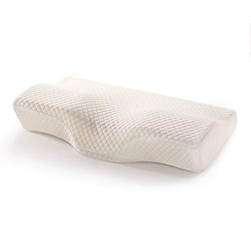 NBSXR Contour Memory Foam Pillow, Ergonomisch Cervical Pillow voor nekpijn, orthopedisch kussen, voor nekpijn, zijslapers en rugslapers