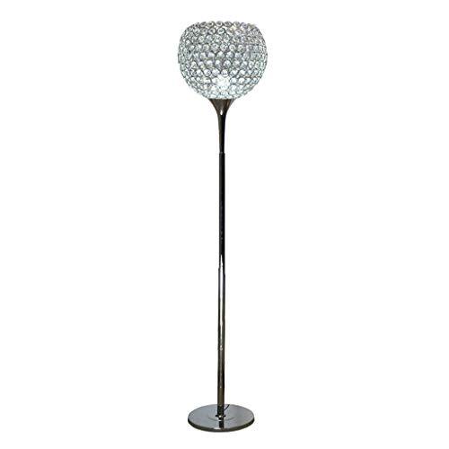 JUNYYANG Lámparas de pie, Led Simple Moderna lámpara de Cristal de Piso, Creative Lámpara de pie, Personalidad Boda Creativa lámpara de cabecera Eye-El Cuidado de luz Vertical