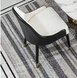 KAIBINY Silla Moderna Nórdico Post-Moderno Luz Italiana Silla de Comedor de Lujo Simple Moderno diseñador Showroom Cafe Modelo Mesa de Comedor y sillas (Color : Boom Clap 2)