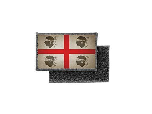 Vlag patch bedrukte Badge Land Vintage Sardinië onafhankelijk