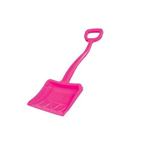 Jamara 460402-Snow Play neve Tally 70 cm rosa fucsia – Plastica robusta e stabile, Maniglia forma a D, Rinforzi nella struttura Pala giocattolo, Colore Pink, 460402