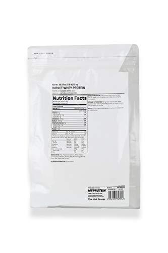 Myprotein Impact Whey Protein Vanilla, 1er Pack (1 x 1 kg) - 3