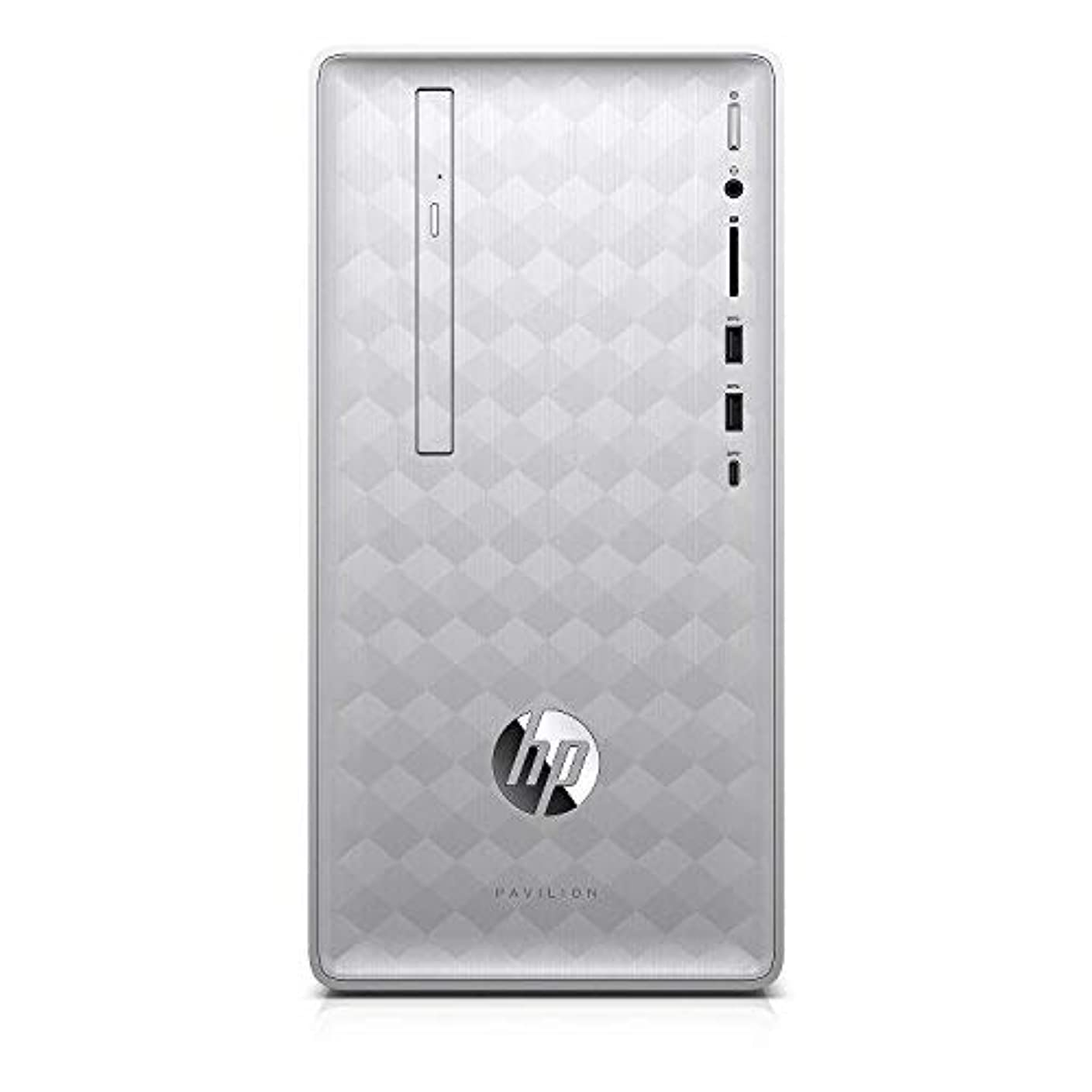 ほめる参照石灰岩HP Pavilion 590-p0057c Desktop - 8th Gen Intel Core i5-8400 6-Core up to 4.00 GHz 16GB DDR4 Memory 1TB SATA Hard Drive 2GB AMD Radeon RX 550 Graphics DVD Writer Windows 10 (64-bit) Silver [並行輸入品]