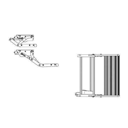 Thule Omnistore Auvent Marchepied Single Step V10 Electric 12 V 550 en Aluminium