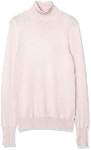 Amazon-Marke: find. Damen Rollkragenpullover, Pink (BLUSH PINK), 40, Label: L