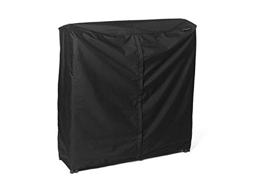 Best Price Fireplace Classic Parts Log Rack Cover 4 FT - 48W x 24D x 44H Color: Black FCP742.BK2