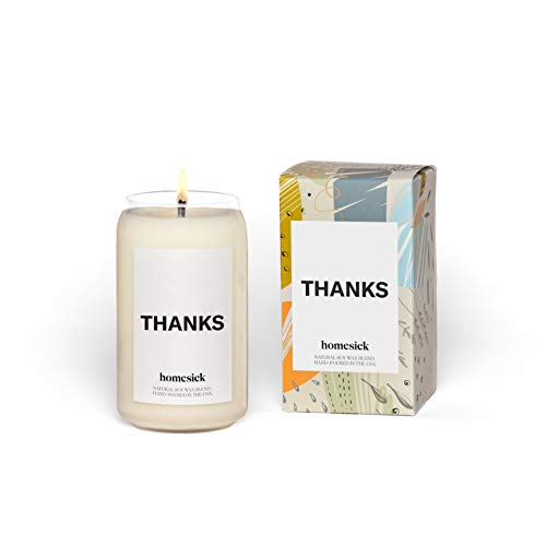 Homesick Scented Candle, Thanks, 13.75 oz