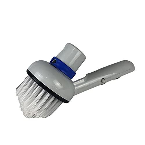 Fenteer Cabezal de cepillo para aspiradora Piezas de repuesto para spa de succión para piscinas Spa Tinas de aguas termales Pisos de baldosas Limpieza de
