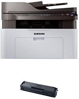 Samsung SL-M2070FW/XAA Wireless Monochrome Printer with Scanner/Copier/Fax and MLT-D111S Toner (Black)